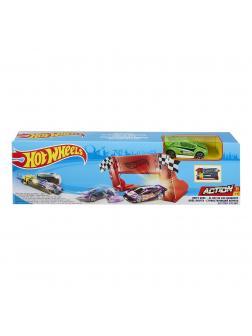 Трек Hot Wheels Мега-прыжок «Король дрифта» DWY51