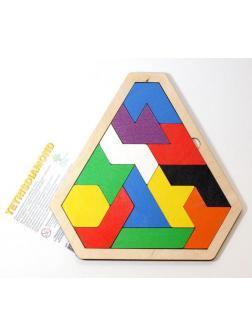 Развивающая игра Десятое королевство Tetrisdiamond деревянная