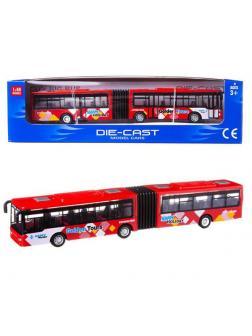 Автобус Junfa металлический, размер коробки 26x7x6,5