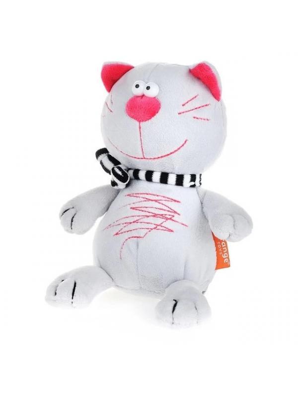 Мягкая игрушка Orange Toys «Кот Батон» светло-серый MC2595/15EF / 15 см.