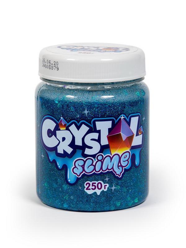 Слайм Slime Crystal голубой, 250г