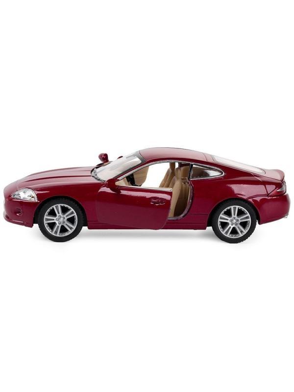 Металлическая машинка Kinsmart 1:38 «Jaguar XK Coupe» KT5321D, инерционная / Микс