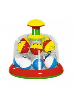 Игрушка для малышей «Юла-карусель» с шариками 01323