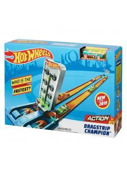 Игровой Набор Hot Wheels Чемпион «Дрэгстрип» GBF82