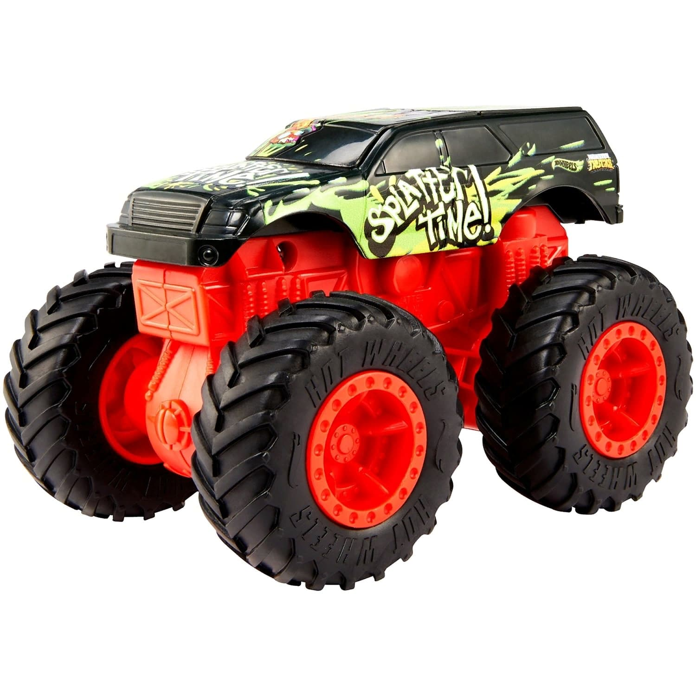Машинка Hot Wheels Monster Trucks «Бэш Апс Сплэттер Тайм» GCF96