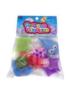 Набор резиновых игрушек для ванной &