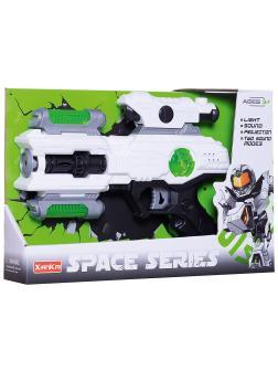 Бластер Space Series со световыми и звуковыми эффектами, 2 цвета KT118-8 / Junfa