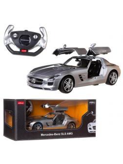 Машинка на радиоуправлении RASTAR Mercedes-Benz SLS AMG, цвет серебряный 40MHZ, 1:14