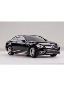Машинка на радиоуправлении RASTAR Mercedes CL63 AMG, цвет чёрный 27MHZ, 1:24
