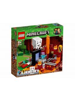 Конструктор LEGO Minecraft «Портал в Подземелье» 21143, 470 деталей