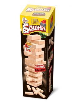 Настольная игра Десятое королевство для детей и взрослых Царь Башня (падающая башня)