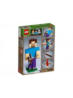 Конструктор LEGO Minecraft «Стив с попугаем» 21148, 159 деталей