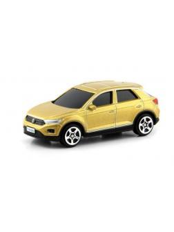 Машинка металлическая Uni-Fortune RMZ City 1:64 Volkswagen T-Roc 2018 (цвет золотой)