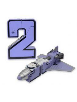 Игрушка-трансформер 1TOY Трансботы Боевой расчет ВКС Парапланер серии XL