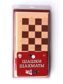Настольная игра Десятое королевство Шашки-Шахматы большие