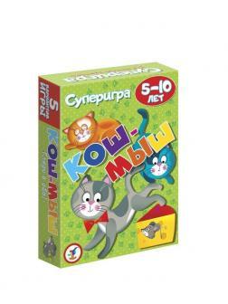 Игра настольная карточная Кош-мыш. 5-10 лет