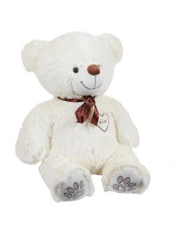 Мягкая игрушка Медведь плюшевый бежевый 50 см
