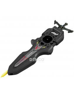 Двухсторонний Запускатель BEYBLADE Burst «Меч Ксандера Шакадера» (Digital Sword Launcher) B-93 / Черный