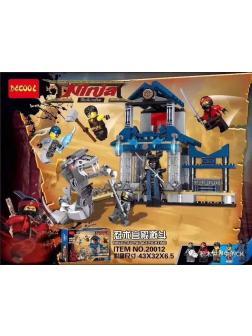 Конструктор «Храм Ниндзя» 20012 (Совместимый с ЛЕГО), 406 деталей