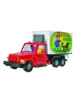 Фургон малый (Урал) в коробке  20 см.