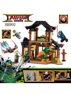 Конструктор DECOOL «Битва за храм» 20011 (НиндзяГо) / 363 детали