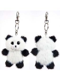 Флэтси Мини. Панда с подвесом, 9,5 см.