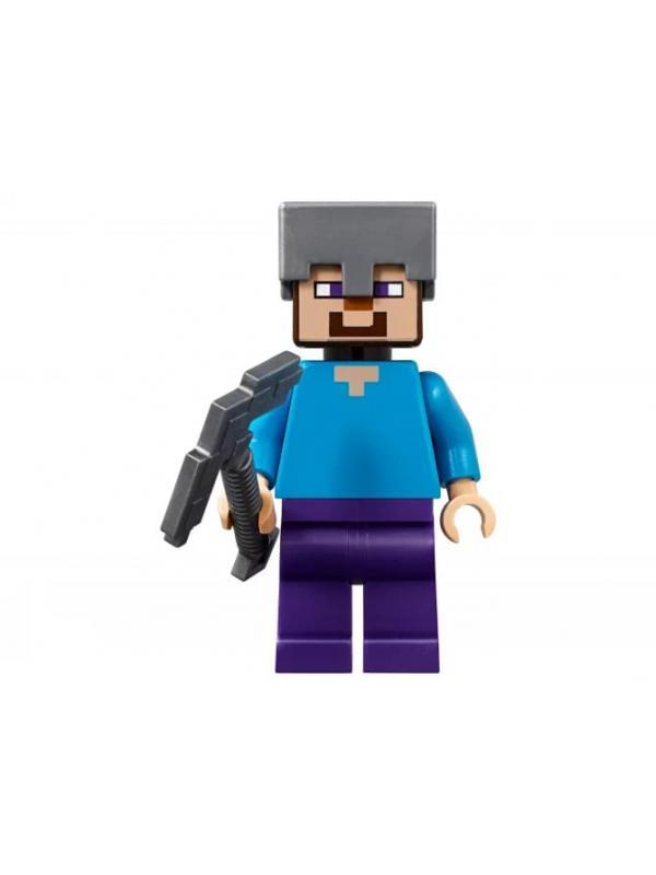 Конструктор LEGO Minecraft «Пещера зомби» 21141, 241 деталь