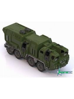 Тягач военный Щит с кунгом 57,5х25х21,5 см.