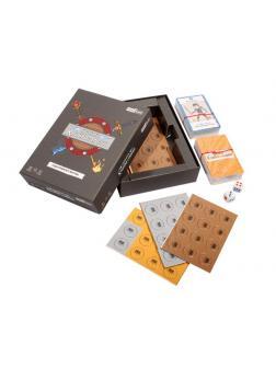 Игра настольная карточная Хроники клинка и магии (тактическая, приключение, семейная, для компании)