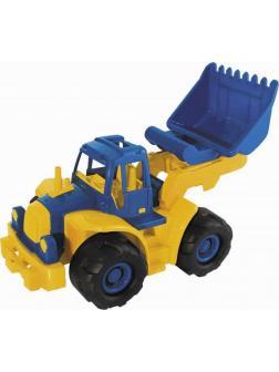 Трактор Богатырь мини с грейдером 50х22х21 см.