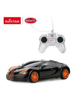 Машинка на радиоуправлении RASTAR Bugatti Grand Sport Vitesse цвет черный, 1:24