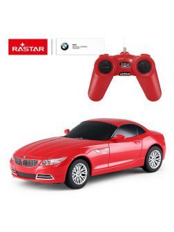 Машинка на радиоуправлении RASTAR BMW Z4, красный 1:24