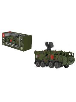Машинка НОРДПЛАСТ Тягач военный Щит с кунгом (камуфляж)