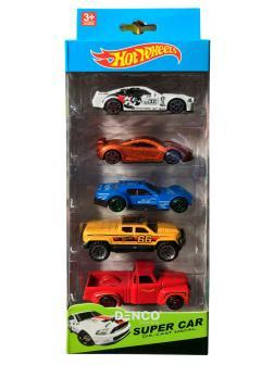 Набор Super Car из 5 машинок 7 см. (Хот Вилс) 324-00