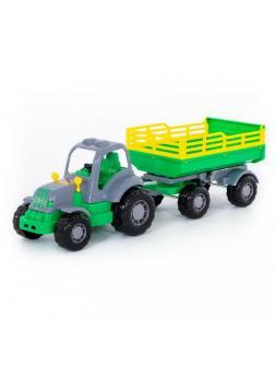 Трактор с прицепом 2 Крепыш