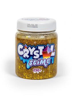 Слайм Slime Crystal золотой, 250г