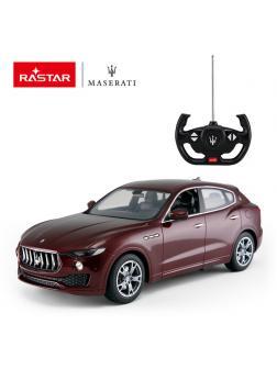 Машинка на радиоуправлении RASTAR Maserati Levante цвет красный, 1:14