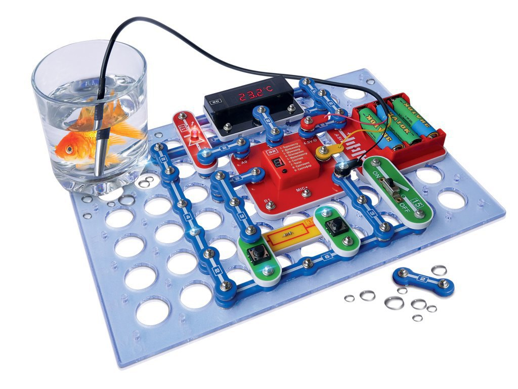 Конструктор электронный ЗНАТОК Супер-измеритель