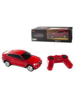 Машинка на радиоуправлении RASTAR BMW X6, цвет красный 27MHZ, 1:24