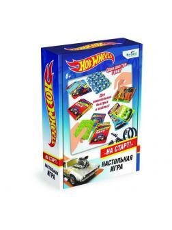 Настольная игра ORIGAMI Hot Wheels На старт!