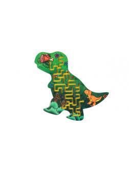 Головоломка Большой Слон Лабиринт Тиранозавр с шариком, средний