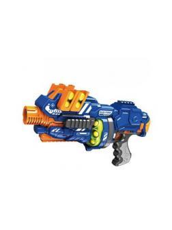 Бластер электромеханический с мягкими снарядами-шарами, 12 штук ZC7087 / Junfa