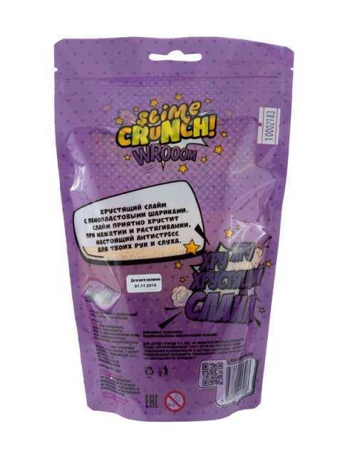 Слайм Slime Crunch WROOM с ароматом фейхоа, 200 г