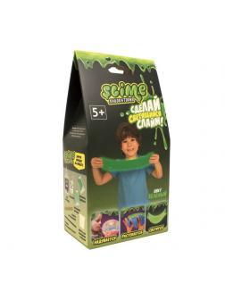 Набор для эксперементов Slime Лаборатория для мальчиков, малый, зеленый, 100 гр.