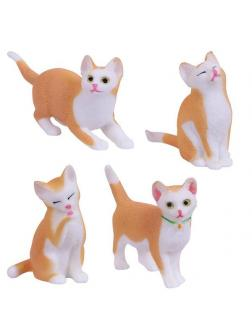 Игрушка-антистресс ABtoys Тянучка Кошка, в инд пакетике 10х10 см. 4 вида в ассорт.