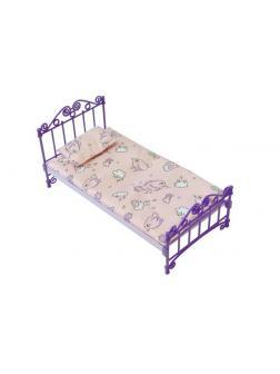 Кроватка с постельным бельем (в пакете ПВХ) 31*16*16см