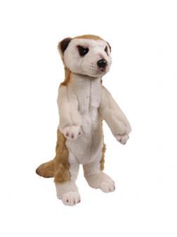 Мягкая игрушка ABtoys В дикой природе Сурикат, 30 см игрушка мягкая