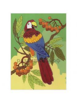 Развивающая игрушкаЧудо-Дерево Рамка-вкладыш Попугай