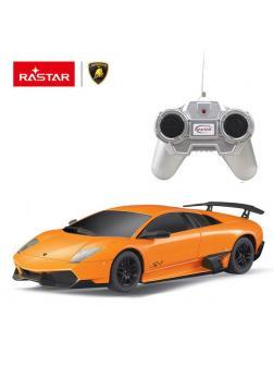 Машинка на радиоуправлении RASTAR Murcielago LP670-4 цвет оранжевый, 1:24
