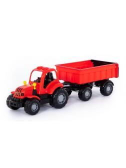 Трактор с прицепом 1 Крепыш